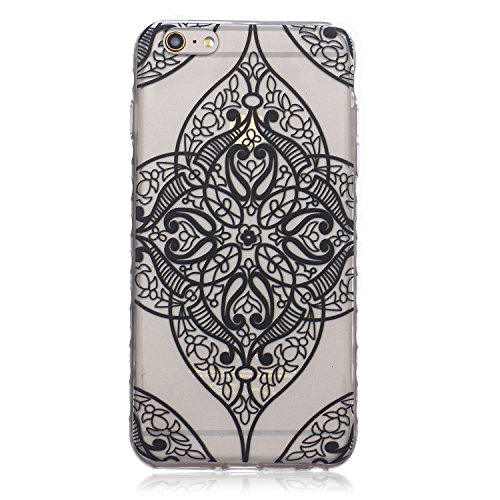 ZeWoo TPU Schutzhülle - BF050 / Hip-hop Owl - für Apple iPhone 6 Plus (5,5 Zoll) Silikon Hülle Case Cover BF042 / Retro Blumenmuster