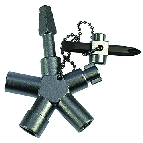 Preisvergleich Produktbild Abina SI Key Bau Plus Universalschlüssel - inkl. 1 Original DEWEPRO® Single Scrubs - 4260368680023