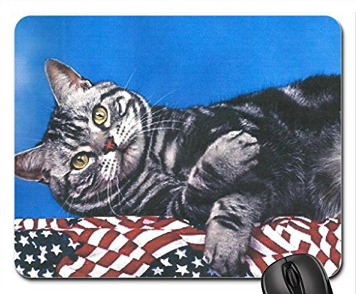 a-cat-laying-on-a-bunning-mouse-pad-mousepad-gatos-mouse-pad