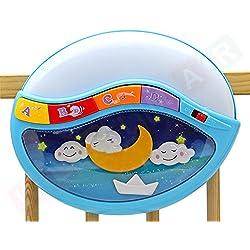 Lámpara, caja de música para el bebé