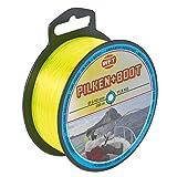 WFT Zielfisch Pilken & Boot 250m 0,40mm 11,8kg gelb - Angelschnur zum Meeresangeln, Monofile Schnur zum Pilkangeln, Meeresschnur
