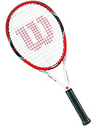 Wilson Federer Tour W/O - Raqueta de tenis, color rojo / gris, talla 3