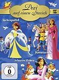 Drei auf einen Streich (Aschenputtel / Dornröschen / Schneewittchen) [3 DVDs]