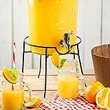 Kilner–Support et distributeur pour boissons, de 5et 8litres, pour cocktail et pour l'été, grand modèle(Support de distributeur)