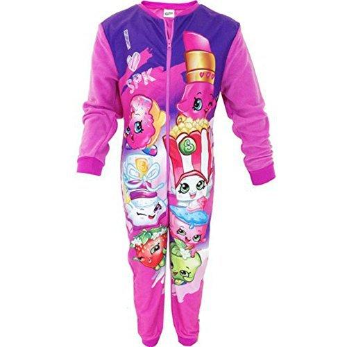 acter Fleece Onesie Pyjamas Nightwear TV Paw Patrol Marvel (Girls Tv Online)