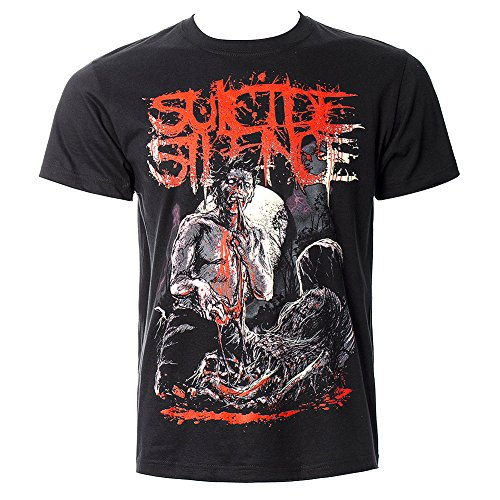 Suicide Silence Grave T Shirt (Nero) - Large