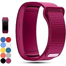 Correa de reloj de repuesto Samsung Gear Fit2 PRO / Fit 2 SM-R360 - iFeeker Correa de pulsera de silicona suave reloj accesorio Sport Band para Samsung Gear Fit2 Pro y Fit 2 SM-R360 Smartwatch