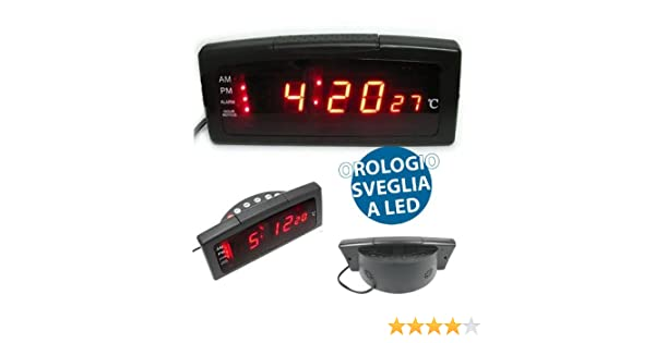Tfa sveglia radio controllata robusta compatta essenzialeradio