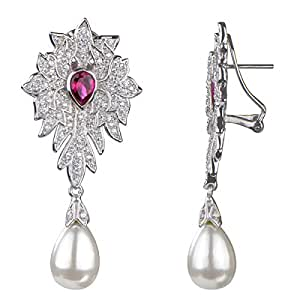 Peregrina Fancy Imitation Pearl Earrings