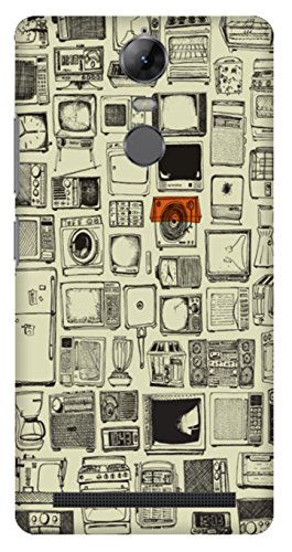 Wizzart Lenovo Vibe K5 Note Back Cover Case In Designer Cases And Covers Simple Print Design
