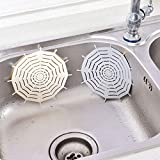axuanyasi Abflus ssieb-Siliconen,Waschbecken Filter, Küche Spüle Kanalisation Abfluss Sieb, Hält Abflüsse Frei von Haaren und Kleinteilen
