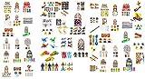 geo-versand 24 Verschiedene Spielzeuge für Jungs Belohung Kindergeburtstag, Mehrfarbig, 100386