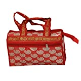 Kuber Industries Pooja Bag In Brocade Ma...