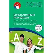PONS Schülerwörterbuch Französisch für die Schule in Rheinland-Pfalz: Französisch-Deutsch / Deutsch-Französisch, mit CD-Rom