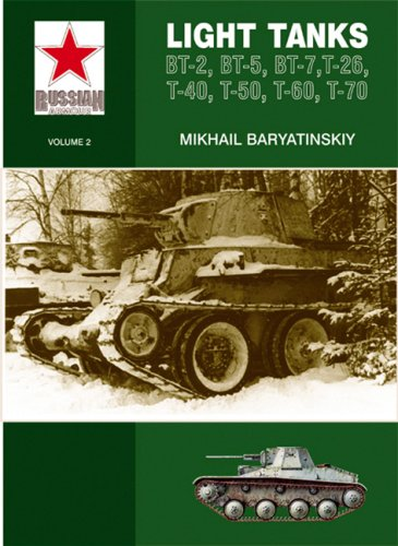 Light Tanks: T-27, T-38, BT, T-26, T-40, T-50, T-60, T-70: Light Tanks - BT-2, BT-5, BT-7, T-26, T-40, T-50, T-60 (Russian Armour, Band 2)