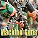 Machine Gun - Mp-40, 9 Mm Parabellum Submachine Gun: 25 Round Burst, Close Perspective Machine Gun Firing
