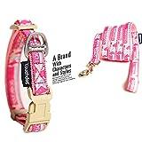 Treat Me Hundehalsband mit Klassische Landkarte Muster Einmaliges Design Hund Halsband für Kleine Mittlere Große Hunde