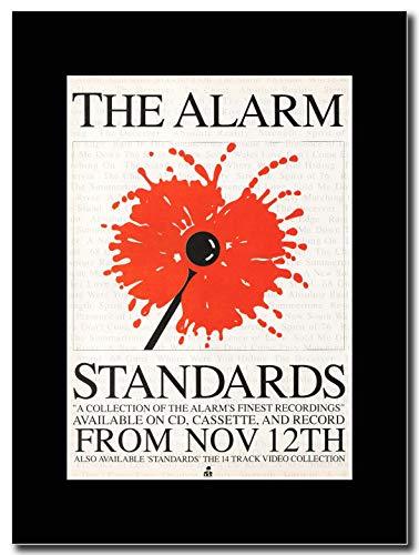 he Alarm - Standards - Magazin Promo-Artwork auf Einer schwarzen Halterung - Matted Mounted Magazine Promotional Artwork on a Black Mount ()
