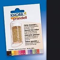 """Wachsfarbe / Färbe Granulat """"SCHWARZ"""" (4 g / reicht für bis zu 2 kg Wachs)"""