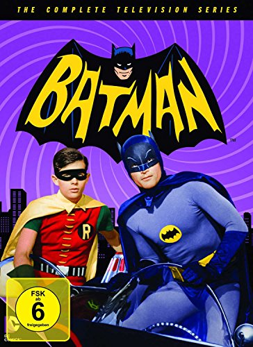 Kostüm Versorgt - Batman - Die komplette Serie (18 Discs)
