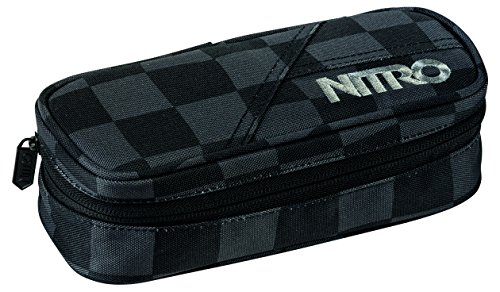 Nitro Snowboards Federmäppchen Pencil Case, Checker; 20 x 8 x 6 cm, 100g, 1131878001