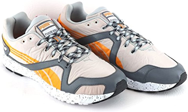 Puma - Zapatillas de running de Material Sintético para hombre beige Gyviolet-Stlgry-Flame Orange