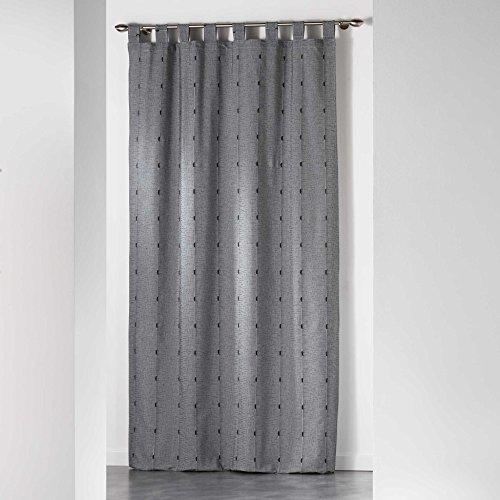 Homea tenda con passanti in poliestere, poliestere, anthracite, 260x140 cm