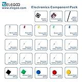 Elegoo Elektronik Komponente Pack mit Widerstand, LED, Druckschalter, Potentiometer für Arduino UNO, MEGA2560, Raspberry Pi - 6