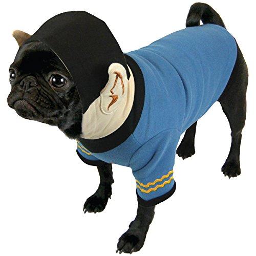 Die Coop Star Trek Hund Spock, Hoodie, groß (Star Trek Hunde Kostüm)