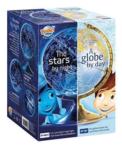 BUKI France 7341UK Tag und Nacht Globus (ENGLISCHE Version) - Star Globe