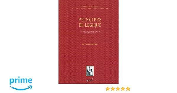 GRATUIT TÉLÉCHARGER THIBAUDEAU DE LOGIQUE PRINCIPE VICTOR