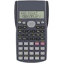 Calcolatrice Scientifica, Helect 2 Righe Calcolatrice Scientifica Elettronica tascabile tecnico-scientifica - H1002
