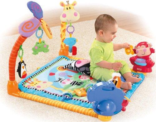 Imagen 4 de Fisher-Price - W2620  - Gimnasio abierto para animales [Importado de Alemania] (Mattel)