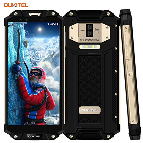 Telephone Portable Incassable, OUKITEL WP2 10000mAh 4G...