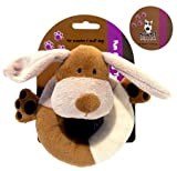 Natural Nippers Cuddle Plush Ring Toy Pets Dog Toys Cuddly 5025659205366