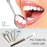 LED Dental Spiegel Mundspiegel mit 5 Zusätzliche Spiegel Tipps von Global Care Market