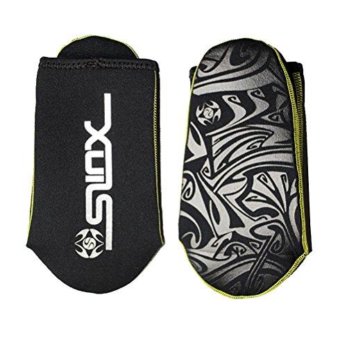 SLINX Adulto Unisex 3 mm Diving Calzini nero