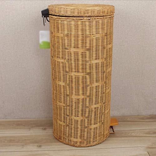 kreative Bambus und Holz die dosen und mülleimer F 30L (Holz-küche-mülleimer)