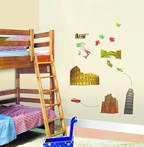 italien wandmalerei wandaufkleber home kunst deko wandtattoo k che haushalt. Black Bedroom Furniture Sets. Home Design Ideas