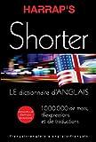 Harrap's shorter dictionnaire Anglais