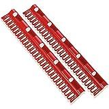 Leifheit 81534 Kleinteilehalter Set für die Pegasus Modelle Kunststoff, rot, 7,5 x2 x 39 cm