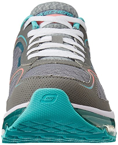 Skechers , chaussures de sport femme Gris