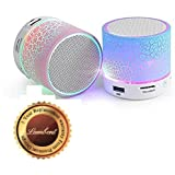 Lambent S10 Bluetooth Speakers With Calling Functions & FM Radio For Android/iOS Devices (One Year Warranty, Assorted Colour)