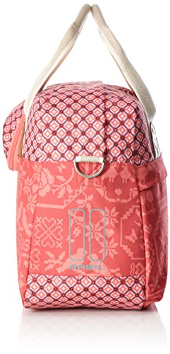 Basil Boheme Carry all Bag - Schultertasche mit Radbefestigung rot