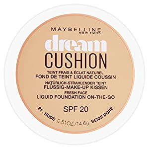 Maybelline Dream Cushion Liquid Foundation, 30 ml, Number 21, Nude