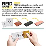 Brustbeutel für Damen und Herren zum Reisen – Brusttasche mit RFID-Blockierung – Umhängetasche Klein - 4