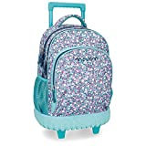 Best Rolling Back Packs - Movom Nina Blue Rolling Backpack 2W Review