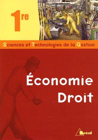 Economie-Droit 1ère STG