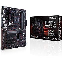 Asus Prime X370-A Gaming Mainboard Sockel AM4 (ATX, AMD X370, 4x DDR4-Speicher, USB 3.1, M.2 Schnittstelle)