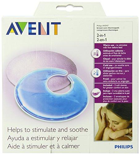 Philips Avent Thermo Pads für die Pflege der Brust von scf258/02–Küchenwerkzeug für kleine Kinder (Gel Stilleinlagen)